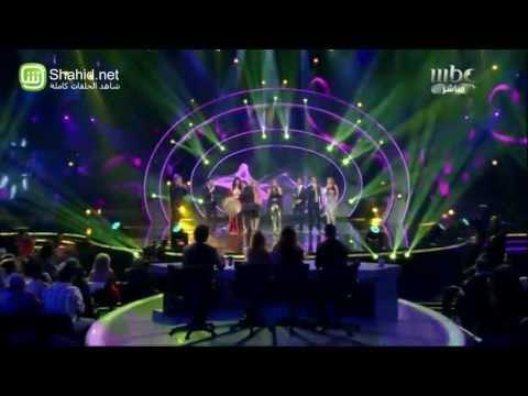 """الغناء الثاني لديانا حداد مع متسابقي """"Arab Idol"""""""
