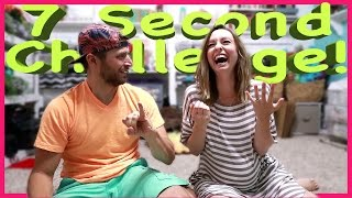 7 SECOND CHALLENGE! | PREGNANCY EDITION!