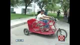 Vehículo especial para discapacitados - América noticias