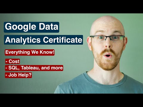 Google Data Analytics Certificate | Coming Out Soon! - YouTube