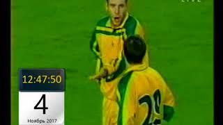 Кубок УЕФА 2000 01 Нант 1 1 Лозанна