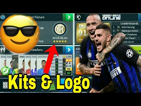 Dream League Soccer 2019 How To Make Inter Milan Kits & Logo