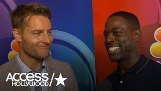 2017 Summer TCA Tour | Sterling K. Brown & Justin Hartley On Sylvester Stallone Joining 'This Is Us' (03.08.17)