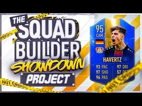 FIFA 19 SQUAD BUILDER SHOWDOWN!!! TOTS KAI HAVERTZ!!! The Squad Builder Showdown Project