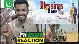 Pakistani Reaction on Blessing of Rabb | Latest Punjabi Songs