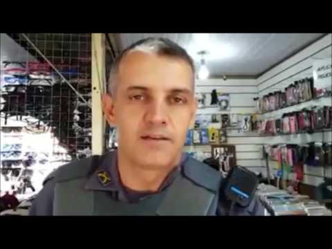 PM realiza operação no Centro de São Carlos