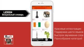 [App Store] LEXI24: Визуальный словарь