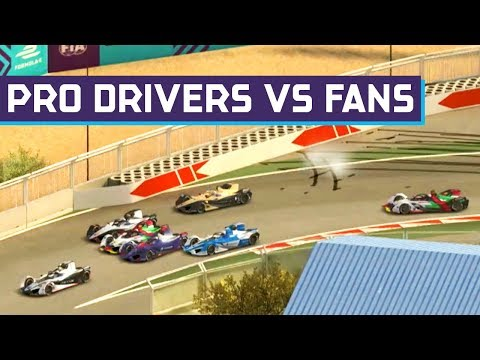 Racing Drivers vs Fans - Marraskesh E-Race - Full Show | ABB FIA Formula E Championship
