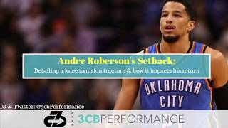 Andre Roberson's setback: What you need to know about his knee avulsion