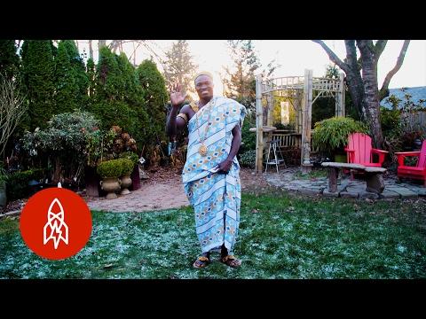 Ghanský král z Kanady