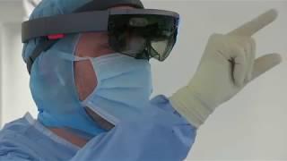 Chapitre 2 - Activité 2 - Opération de l'épaule réalisée avec un casque de réalité mixte