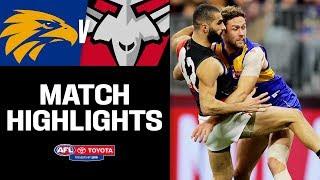 Plenty Of Thursday Night Niggle | West Coast V Essendon Highlights | Round 14, 2019 | AFL