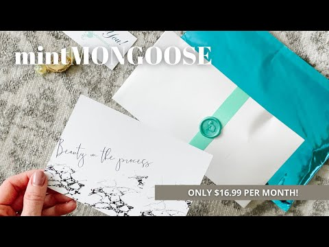 mintMONGOOSE Unboxing February 2021