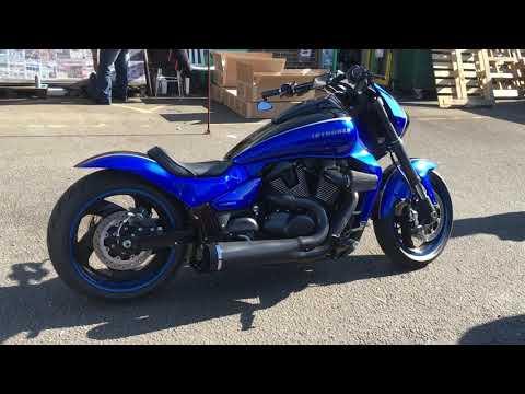 SUZUKI ブルバードC109R カスタム  バイクパーツ動画バイク用品