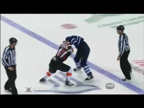 Zac Rinaldo vs Luke Schenn