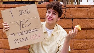I Said Yes to Everything for 24 Hours | Juanpa Zurita