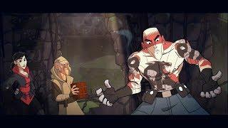 Mark of the Ninja Remastered All Animated Cutscenes Cartoon & 2 Endings (Main Story)