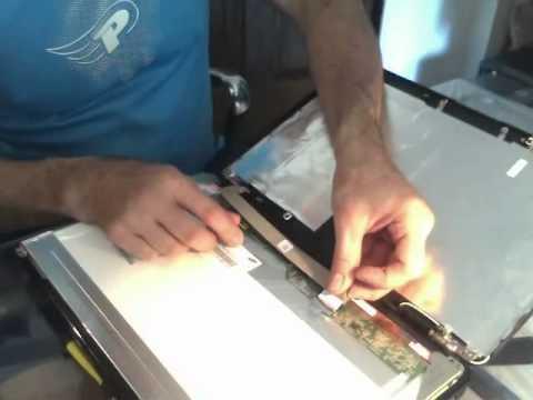 comment demonter l'ecran d'un pc portable hp