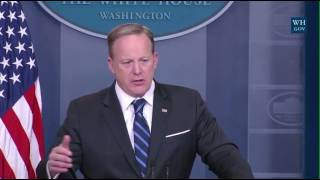 Spicer: Town Hall Protesters Are Loud Small Group