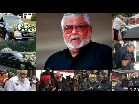 Full Video : Former President J.j Rawlings Mother's Funeral