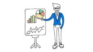 Doodle-видео: Рекламный ролик для бизнеса Almaty group.