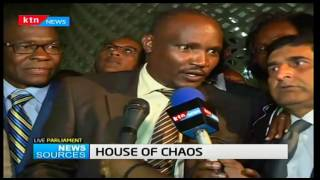 News Sources: Hon. John Mbadi addresses press after proceedings get adjourned until January