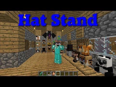 Hat Stand Mod Showcase (Minecraft 1.12.2)