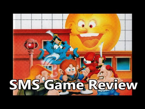 Alex Kidd in Shinobi World Sega Master System Review - The No Swear Gamer Ep 200
