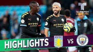 Aston Villa vs. Manchester City: 1-6 Goals & Highlights | Premier League | Telemundo Deportes
