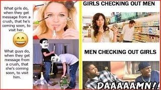 Men vs Women ⚤ - Hilarious Gender Differences ツ