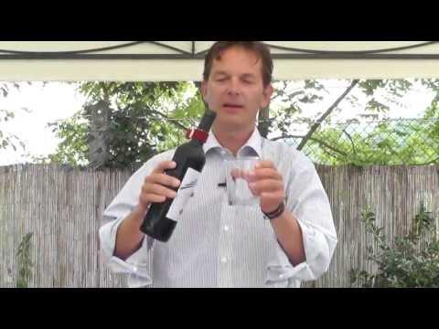 Troika Weinmanchette als Tropfenfänger für die Weinflasche