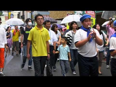 27志村第六小学校の鼓笛隊