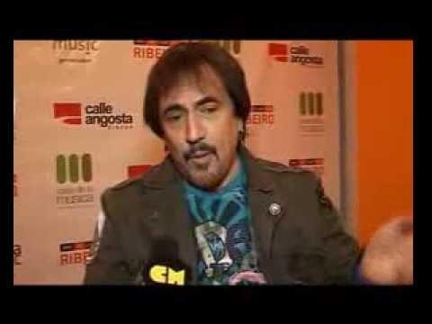 Alejandro Lerner video Entrevista parte 2 - Presenta DVD