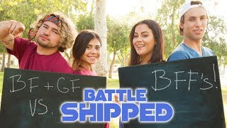 COUPLES TRIVIA CHALLENGE | Tessa Brooks Tristan Tales VS. JC Caylen Chelsey Amaro | BATTLE SHIPPED