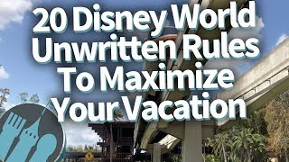 20 Disney World Unwritten Secrets To Make Your Vacation EPIC!
