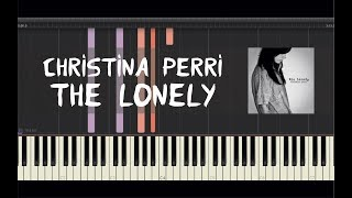 Christina Perri - The Lonely - Piano Tutorial by Amadeus (Synthesia)