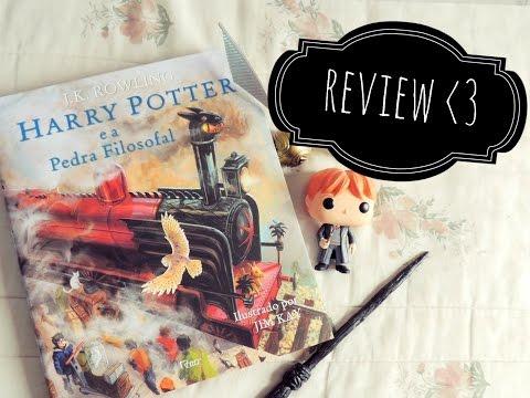 Review | Harry Potter e a Pedra Filosofal - Ilustrado ?