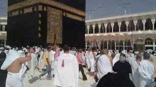 preview picture of video 'Mecca, View of Kaaba, Makkah, Mekka, Hac, Hadsch, Hajj, Hadj to Mekka, Pilgerfahrt'