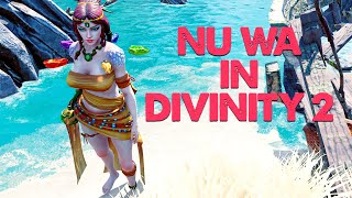 Nu Wa from Smite in Divinity 2