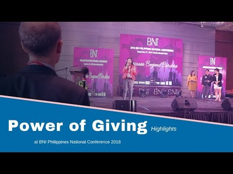 Power of Giving (BNI Philippines) Highlights