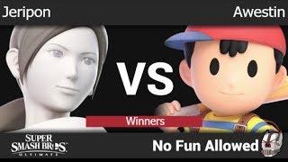 NFA 3 - VERT | Jeripon (Wii Fit) vs TLOC | Awestin (Ness) Winners - SSBU