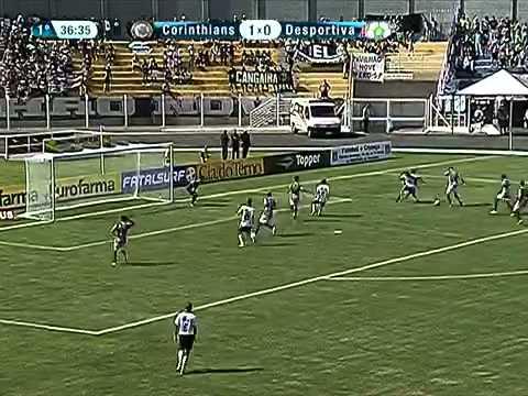 Corinthians 2 x 0 Desportiva-ES pela Copinha