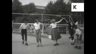1950s Butlins, Filey, UK Holidaymakers, Home Movie Archive Footage