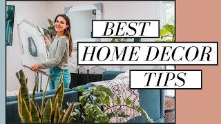 Best Home Decor Tips + Ideas   How To Create Your Dream Home