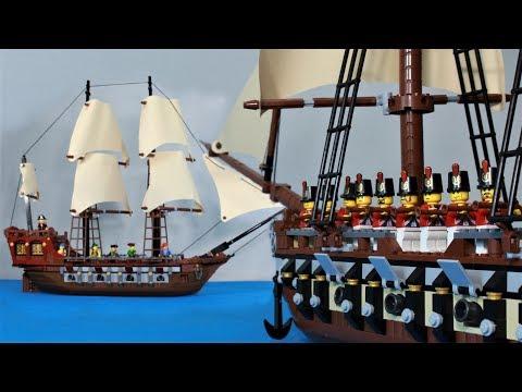 Download Lego Pirate Sea Battle 4 HD Mp4 3GP Video and MP3