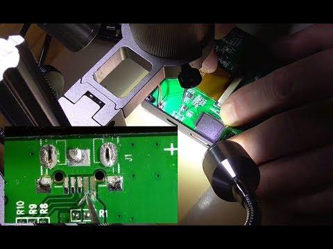 Micro USB Buchse defekt und Leiterzüge abgerissen DIY reparieren