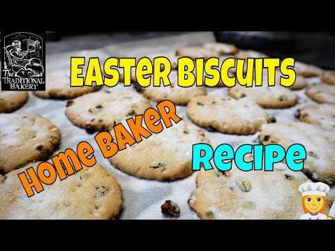 Easter Biscuits how to  Recipe Demonstration in the Bakery