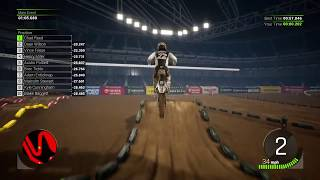 Monster Energy Supercross 2 Custom Track: All Out Anaheim SX