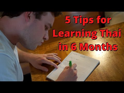 5 Tips for learning to speak Thai in 6 Months
