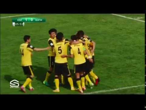 "Топ-Лига-2017. Матч #2 ""Алай"" – ""Нефтчи"" 2:1"